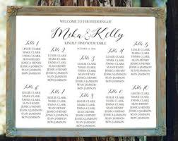 wedding guest seating chart template seating chart template elegant wedding seating cards modern