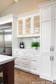 Tall White Kitchen Cabinets In Lafayette California
