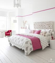 bohemian sundara duvet bedding collection in fuchsia pink and french grey