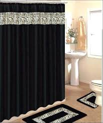 black bathroom rug set sets with runner full size of shower curtain and chenille bath