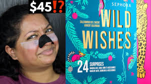 <b>Sephora Collection Wild Wishes</b> Advent Calendar 2020 Unboxing ...