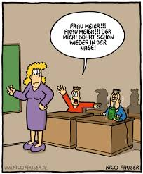 Humor In Der Schule Nachdenkliches Cartoons Schulwitze
