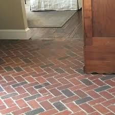 brick tile flooring tumbled thin brick floors brick tile flooring cost