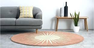 large round area rugs a wool rug in pink designed by large circle circular medium home