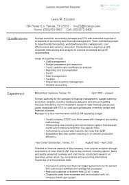 Objective Accounting Resumes Fresh Staff Accountant Resume Objective And Staff Accountant