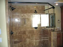 how to install glass shower doors yourself shower door cost per square foot glass awesome doors