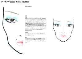 printable mac face charts makeup anarchist looks zip file includes collections released in such as a