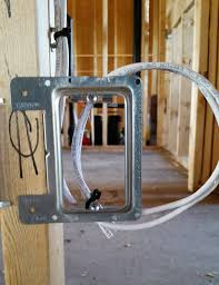 structured prewire baseelectronics ca we use metal wire caddies at low voltage plate locations to ensure that your wall jacks will be perfectly vertical when your home is completed