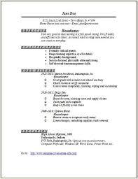 Housekeeping Resume Interesting Housekeeper Resume Sample Resume Pinterest Sample Resume