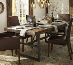 Wexford Industrial Style Dining Table SetIndustrial Look Dining Table