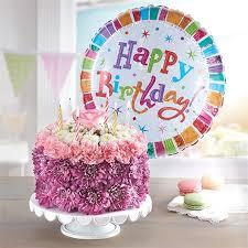 1 800 Flowers Birthday Wishes Flower Cake Pastel Conroys