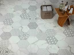 gallery decorative hexagonal tiles