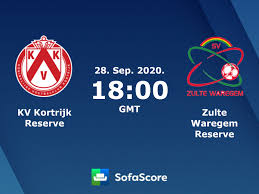 KV Kortrijk Reserve Zulte Waregem Reserve Live Ticker und Live Stream -  SofaScore