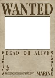 wanted photoshop template one piece wanted poster template clay stage