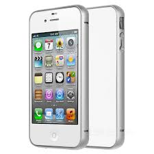 durable protective aluminum alloy per frame case for iphone 4 4s silver