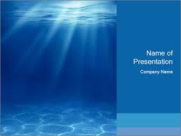 Blue Powerpoint Theme Blue Deep Sea Powerpoint Template Infographics Slides