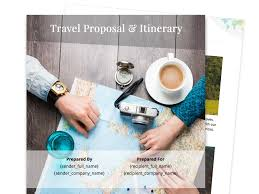 business proposal templates travel proposal template