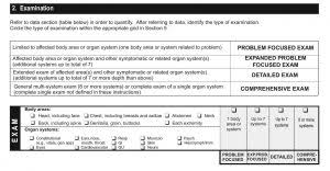 Cms Chart Audit Tool Defining A Detailed E M Exam Aapc Knowledge Center