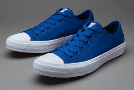 converse 2 mens. mens shoes - converse chuck taylor all star ii blue/white/navy 2