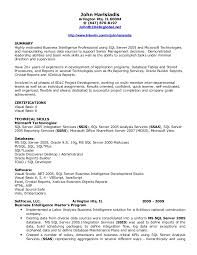 ... Sql Developer Resume 9 Unusual Design Bi Developer Resume 11 Template  Proffesional Sql ..