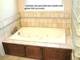 how to install a tub surround bathtub tile surround ideas bathroom tub in installation plans