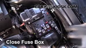 replace a fuse 2013 2016 ford fusion 2013 ford fusion se 2 0l 4 6 replace cover secure the cover and test component