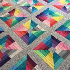 Best 25+ Modern quilting ideas on Pinterest   Modern quilt ... & beautiful modern Quilt made from only solids Adamdwight.com