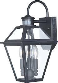 motion sensing outdoor light fixtures textured black outdoor motion sensor wall light fixture w photocell loading motion sensing outdoor