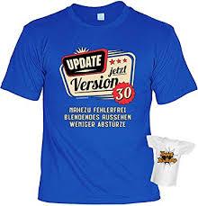 T Shirt 30 Geburtstag Geburtstagsshirt Sprüche 30 Jahre Geschenk