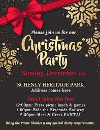 Microsoft Christmas Party Christmas Party Flyer Template Microsoft Office Poster Templates