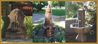 water fountains concrete santa ana ca garden fountains yard outdoor planters california fountains to you