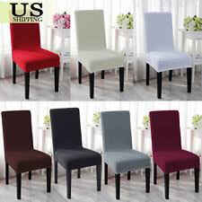 chair covers. spandex stretch wedding banquet chair cover party decor dining room seat covers