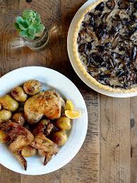 Kitchen Dinner Mixed Mushroom Tart Two Of A Kind