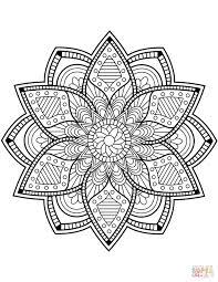 Disegno Di Mandala Di Fiori Da Colorare Disegni Da Colorare E Con