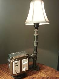 etsy industrial lighting. the hammered boss desk or table lamp with usb by bosslamps 17000 cool ideas pinterest desks and etsy industrial lighting