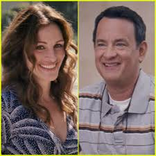 Synopsis: After losing his job, Larry Crowne (Hanks) heads to his local college to start over. There he becomes part of a colorful community of outcasts, ... - julia-roberts-tom-hanks-larry-crowne-trailer