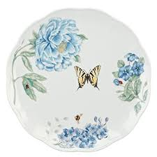lenox butterfly meadow dinner plates. Interesting Dinner Lenox Butterfly Meadow Blue Dinner Plate Throughout Plates O