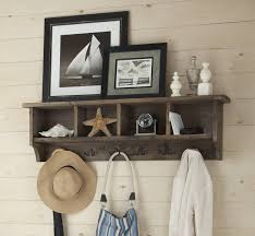 Wall Coat Rack With Storage Loon Peak Somers Wall Mounted Coat Rack with Storage Cubbies 10
