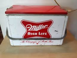 vintage antique miller high life metal beer cooler champagne of bottle coolers home improvement loans nj