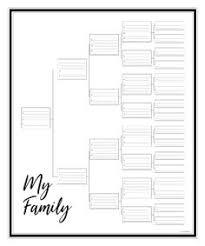 Blank Charts Family Chartmasters Genealogy