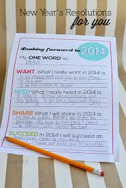 what is my new year s resolution images new year s  updated printable new year s resolutions for you