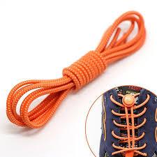 <b>1 Pair</b> Lock Laces 100cm <b>No Tie</b> Elastic Shoelaces for Kids & Adults ...