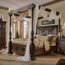 Draped canopy tudor-style bed. Remove the silly white drape and