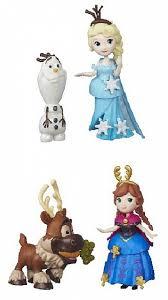 Игровой <b>набор</b> Disney Frozen <b>Маленькая кукла</b> с другом 7,5 см в ...