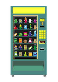 Vending Machine Deutsch Inspiration Green Vending Machine Vector Isolated On White Royalty Free
