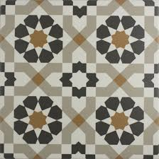 Marrakech Catarina Copper 4 Pattern Floor Tile