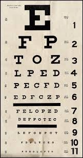 Eye Chart Actual Size 35 Actual Eye Seeing Chart