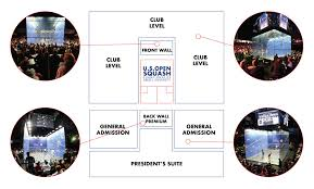 Us Open Seating Chart Tickets U S Open Squash