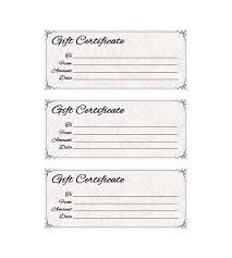 gift certificate for business classic antique gift certificate places to visit gift