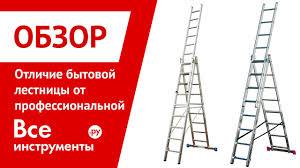 Стремянки. Чем профессиональная <b>лестница</b> отличается от ...